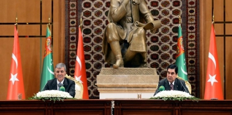 President Abdullah Gül Pays An Official Visit To Turkmenistan