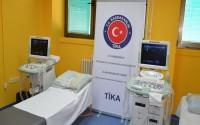 Karadağ Niksic Devlet Hastanesi'ne Tıbbi Cihaz Desteği