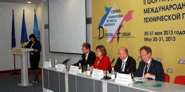 Crimea International Technical Asistance Donors Forum
