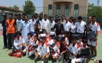 Peşaver'de Malik Saad Spor Vakfı'na Malzeme Desteği