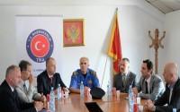 Karadağ'da Berane Emniyet Müdürlüğü Binasının Onarımına Destek Verildi