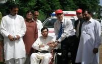 Pakistan'ın Keşmir Bölgesine Ambulans Desteği