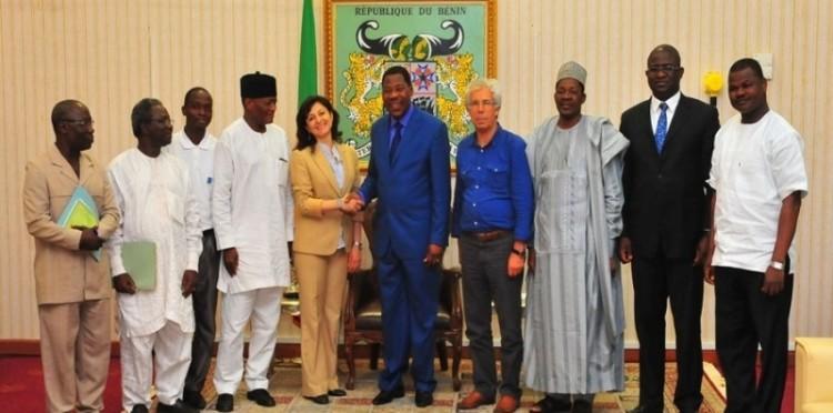 President Of Benin Republic Dr. Boni Thomas Yayi Received The TİKA Delegation
