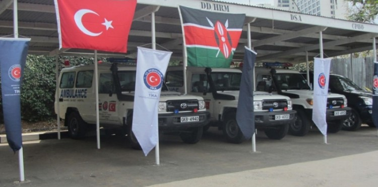 TİKA Provides Ambulances To Kenya Ministry Of Health