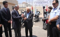 10 Fully Equipped Motorcycles Were Given To The Palestine Police