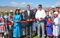 Moğolistan Tuvalarının Dil ve Kültürüne Destek