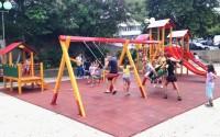 Makedonya'da 'tika Çocuk Oyun Alanları ve Parkları' İnşaat Çalışmaları Başladı