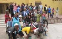 Kongo Demokratik Cumhuriyeti'ndeki Yetimhaneye Ekipman Desteği