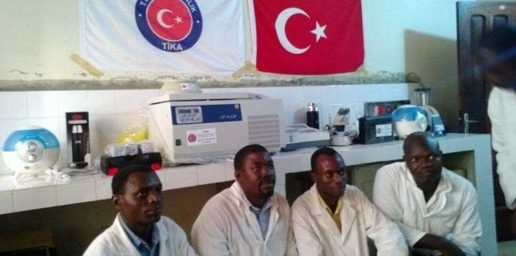 Materials Assistance Was Provided To The Bohican Cotton Research Institute Entomology Laboratory In Benin
