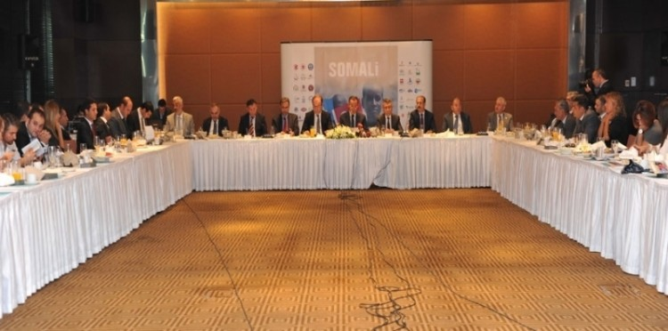 A Press Conference Was Organized Concerning The Aid That Has Been Provided To Somalia