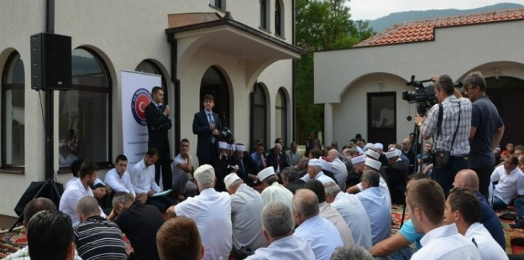 The Bioçe Mosque Which Was Reconstructed In Montenegro Has Been Opened For Service