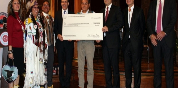 200 Thousand Dollars In Aid For Native Americans
