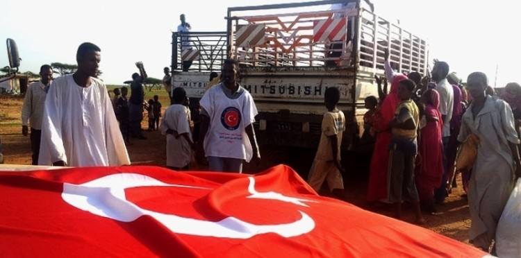 Tent And Food Aid To The Flood Victims In Sudan