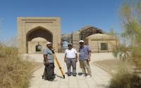 Türkmenistan'da İki Sahabeye Ait Türbelerin Restorasyon Çalışmaları Devam Ediyor