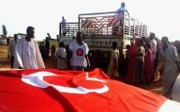 Sudanlı Selzedelere Çadır ve Gıda Yardımı