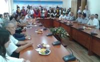 Kırgızistan Cumhuriyeti Bişkek Sosyal Bilimler Üniversitesi'nin Tadilatı Tamamlandı