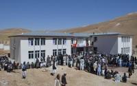 Afganistan'ın Belh Vilayetinde Yapımı Tamamlanan Okulun Açılışı Gerçekleştirildi