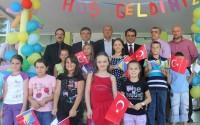 Bosna Hersek'te Konjic Şehri Birinci İlköğretim Okulu'nun Spor Salonu Yenilendi