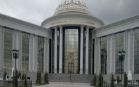 """""""Felsefe-Bilim Geleneğinin Kadim Kökleri: Türkmenistan ve Türkmen Kökenli Bilginler"""" Konferansı Başladı"""