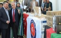 Afganistan'da Cevizcan Valiliği İdari Birimlerine Malzeme Temini Yapıldı