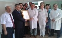 Kırgızistan'da Ulusal Anne ve Çocuk Sağlığı Merkezi Perinatal Dönemi Pataloji Bölümü Tadilatı Tamamlandı