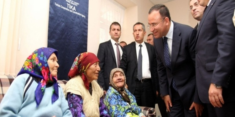 The Projects Completed In Moldova Were Opened For Service By The Deputy Prime Minister Bekir Bozdağ