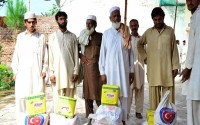 Food Aid To 3 Separate Regions Of Pakistan