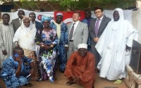 Small Livestock Support And Equipment Was Provided To Gambia
