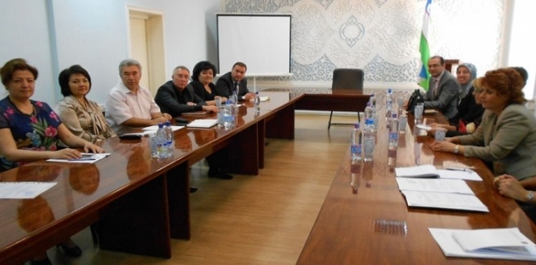 Support Was Given To The Visit To Inspect The Medical Training Project