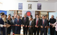 The Fethi Gemuhluoğlu Library Was Opened By Deputy Prime Minister Bulent Arinç In Bosnia Herzegovina