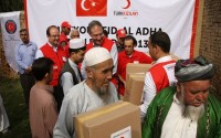 The Cutting Of Sacrificial Animals By TİKA And The Turkish Red Crescent In Pakistan