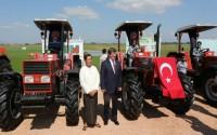 Myanmar Tarım Bakanlığı'na Traktör ve Tarım Ekipmanları Desteği