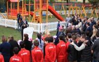 Makedonya'da Üsküp Çayır Belediyesi'ne Çocuk Parkı