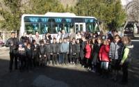 Tacikistan'da Huşyori Romatizmalı Çocuklar Sanatoryumuna Servis Aracı