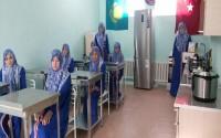 Kazakistan'da Çimkent İlahiyat Yüksekokulu'nda Mesleki Eğitim Kursları Başladı