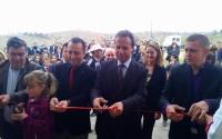 Makedonya'da Şaşavarlı Köyü Yeni Okuluna Kavuştu