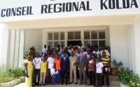 Senegal'de Kolda Mesleki Eğitim Merkezi'ne Malzeme Desteği