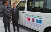 Kazakistanlı Engellilere Yardım