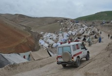 Food Aid To Disaster Victims In Afghanistan