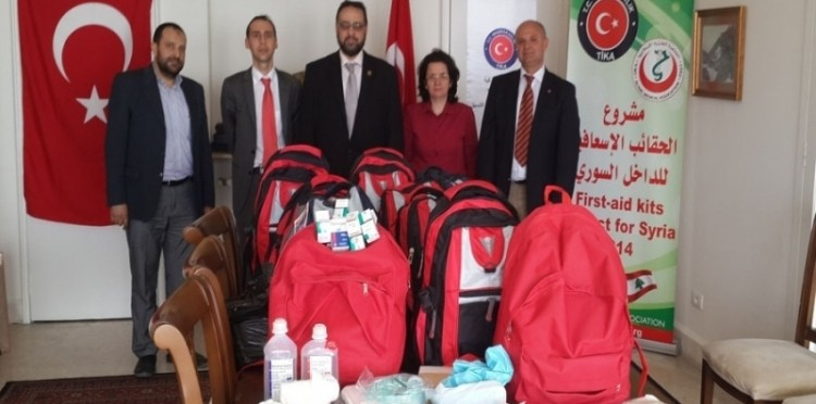 Delivery Of Supplies To Islamic Medical Center In Lebanon