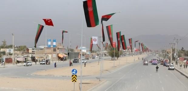 Afganistan'da Puli Sokhta Darulaman Sarayı Arası Yolu Hizmete Açıldı   - 21