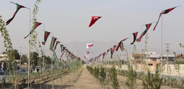 Afganistan'da Puli Sokhta Darulaman Sarayı Arası Yolu Hizmete Açıldı   - 20