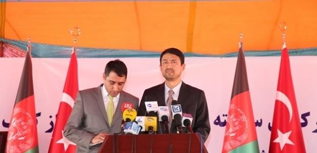 Afganistan'da Puli Sokhta Darulaman Sarayı Arası Yolu Hizmete Açıldı   - 18