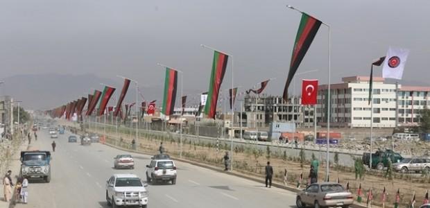Afganistan'da Puli Sokhta Darulaman Sarayı Arası Yolu Hizmete Açıldı   - 17