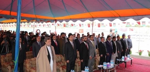 Afganistan'da Puli Sokhta Darulaman Sarayı Arası Yolu Hizmete Açıldı   - 12