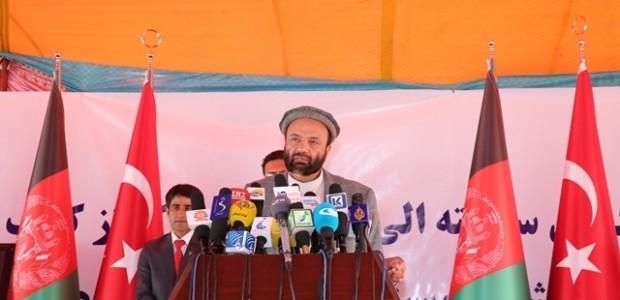 Afganistan'da Puli Sokhta Darulaman Sarayı Arası Yolu Hizmete Açıldı   - 8