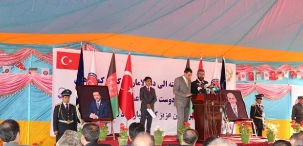 Afganistan'da Puli Sokhta Darulaman Sarayı Arası Yolu Hizmete Açıldı   - 6