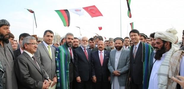 Afganistan'da Puli Sokhta Darulaman Sarayı Arası Yolu Hizmete Açıldı   - 1
