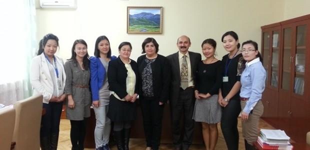 Moğolistan Milli İstatistik Ofisi Uzmanlarına Yönelik Eğitimler Devam Ediyor  - 1