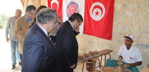 TİKA'dan Tunus'a Seramik Atölyesi   - 4